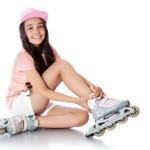 Inline Skates Test Kinder