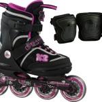 K2 Inline Skate Roadie Junior Pack Mädchen