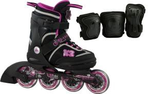 K2 Inline Skates Kinder Roadie Junior Pack Mädchen
