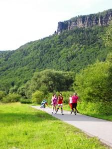 Inline Skates Urlaub - Inliner-Touren Elberadweg 1